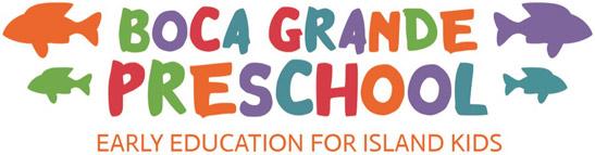 Boca Grande Preschool logo with tagline: Early Education for Island Kids